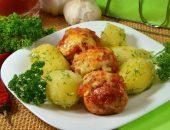 Тефтели и картофель