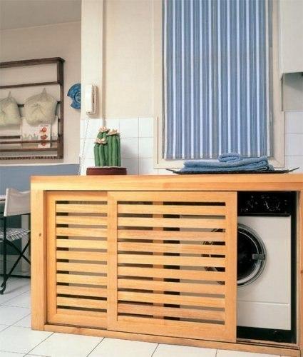 Стиральная машинка в квартире