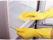 Чистка стекла в холодильнике