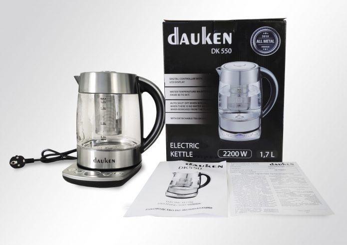 Комплектация Dauken DK550